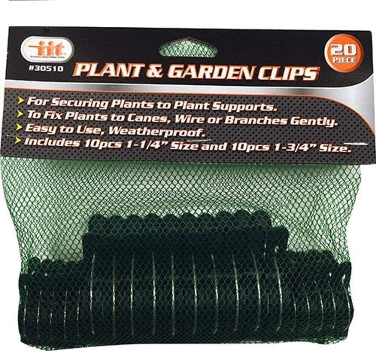 IIT 30510 gift 20Pc Plant Garden Max 86% OFF Bran Bushes Securing Flowers Clips