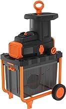 Black+Decker BEGAS5800 Elektrische fluisterhakselaar, 2.800 watt, voor het snel verkleinen van takken en takken tot Ø 45 m...