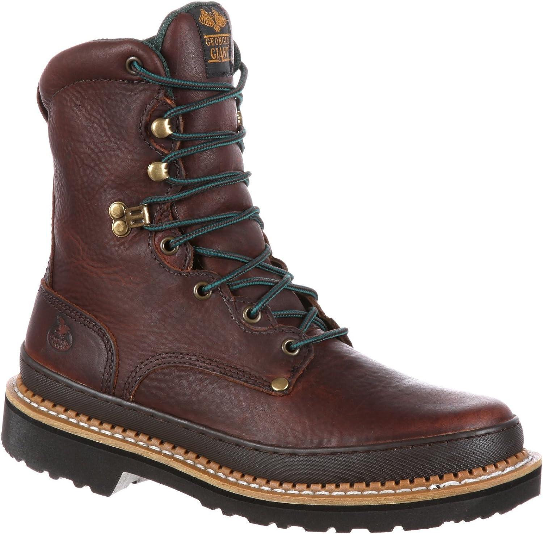 Georgia Men's 8  Giant Non Steel Toe Work BootsG8274