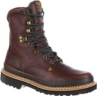 M17 Georgia Mens 8 Giant Steel Toe Work BootsG-8374