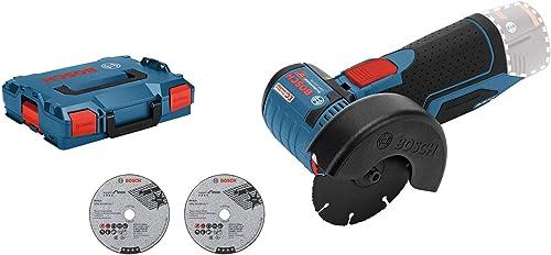 Bosch Professional Meuleuse d'angle Sans Fil GWS 10,8-76 V-EC (12 V, Ø de Meule 125 mm, L-Boxx) product image