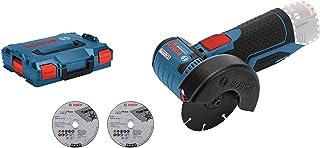 comprar comparacion Bosch Professional GWS 12V-76 - Amoladora angular a batería 12V, 19500 rpm, disco 76 mm, 3 discos, sin batería, en L-BOXX