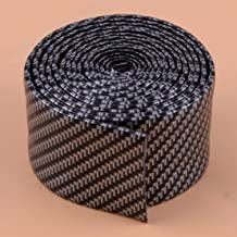 2M Carbon Fiber Texture Door Sill Scuff Plate Threshold Step Protector Guard Cover Sticker