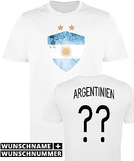 3f16d10822c80 Comedy Shirts Manches Femme Maillot de Football imprimables – Nom et numéro  personnalisé – WM/
