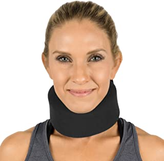 Best Vive Neck Brace - Foam Cervical Collar - Vertebrae Whiplash Wrap Aligns and Stabilizes Spine - Adjustable Spinal Support Can Be Used While Sleeping and Relieves Pain, Pressure Review