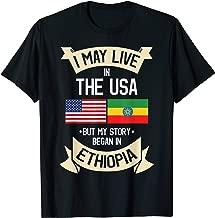 Ethiopian Ethiopia T-Shirt Gift For Ethiopian People