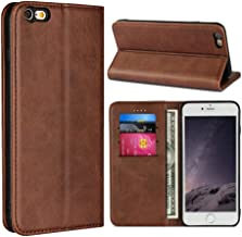Sponsored Ad - SunYoo for iPhone 6 Plus /6s Plus Case,Cowhide Pattern Leather Magnetic Book Wallet Case Stand Holder Flip ...