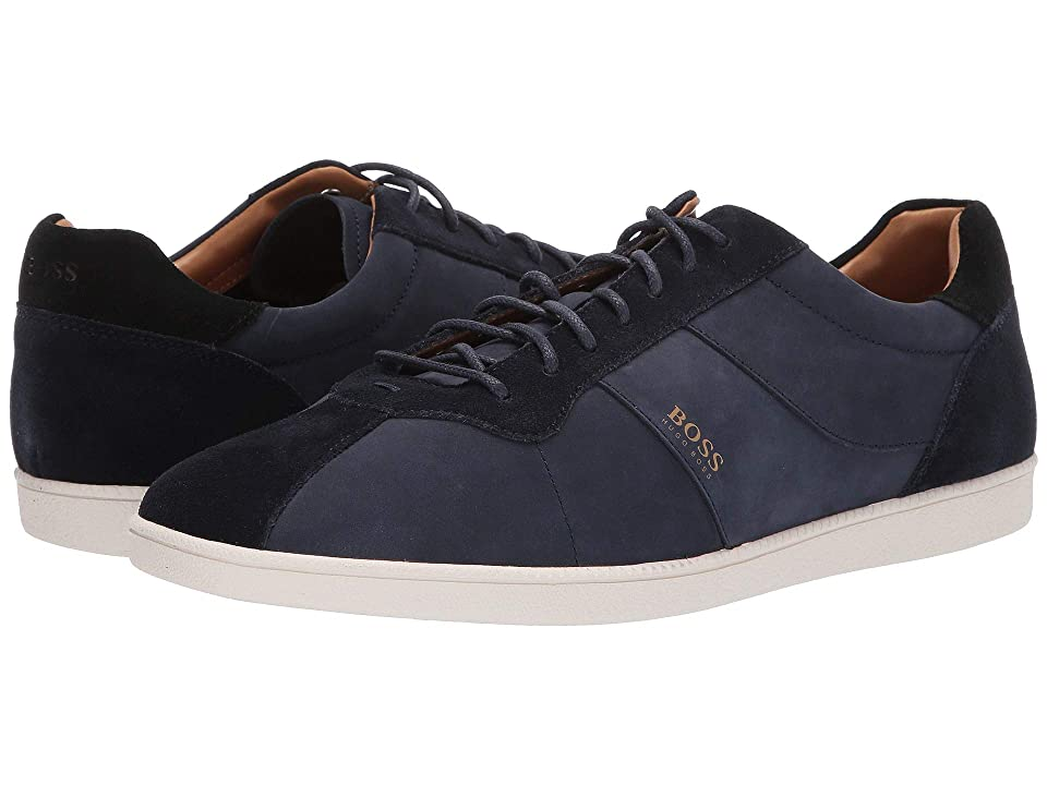 BOSS Hugo Boss Rumba Tennis Sneaker (Dark Blue) Men
