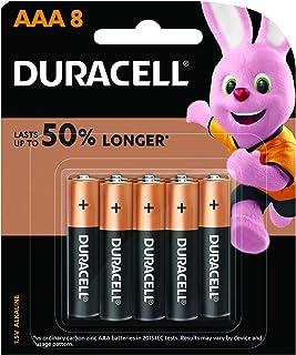 Duracell Coppertop Alkaline AAA Battery, 8 Pack