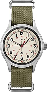 Timex x Todd Snyder Military Inspired 40mm Fabric Strap Watch