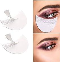 100 عدد پد سایه چشم حرفه ای Stencils Lint Free Under Eye Pads سایه چشم سایه چشم برای Extensions / Lip Makeup