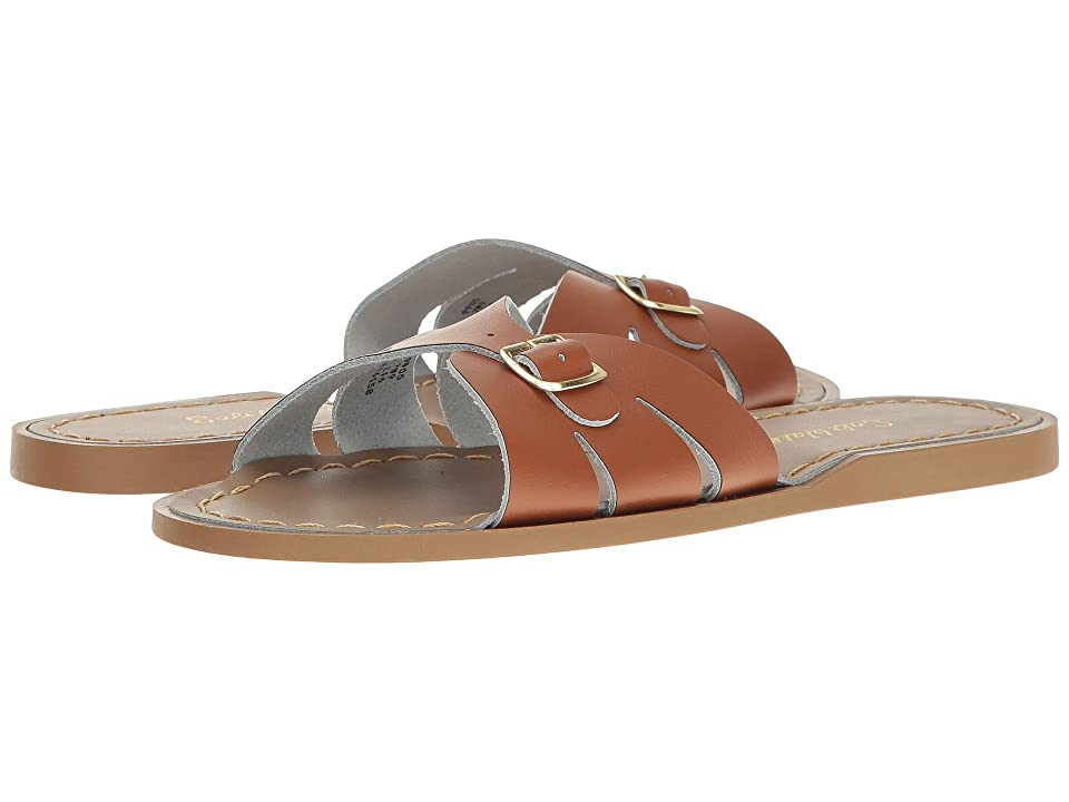 Salt Water Sandal by Hoy Shoes Classic Slide (Big Kid/Adult) (Tan) Girls Shoes