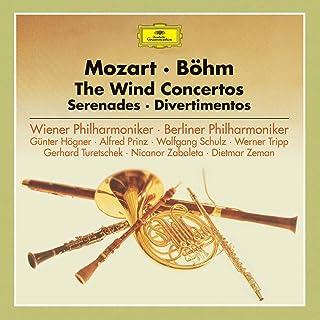 モーツァルト:管楽器のための協奏曲集、セレナード、ディヴェルティメント集