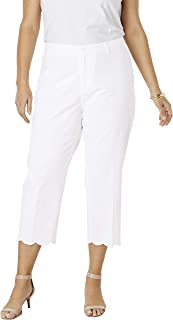 Jessica London Women's Plus Size Capri Pants in Poplin