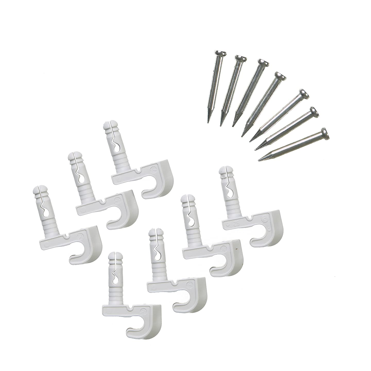 ClosetMaid 56610 Pre-Loaded Wall Clips
