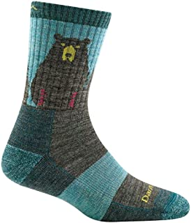 Darn Tough Bear Town Micro Crew Light Cushion Sock - Women's