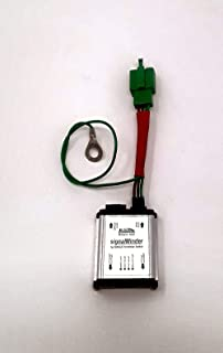 Turn Signal Canceling Motorcycle Relay SM-3 - Programmable 4-Way Flash, Running & Escort Modes - signalMinder by Kisan