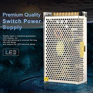 My TRIDEV 5V 30A 150W DC Switch Power Supply for WS2811 2801 WS2812B WS2813 APA102, CCTV, Radio, Computer Project etc (ISO...
