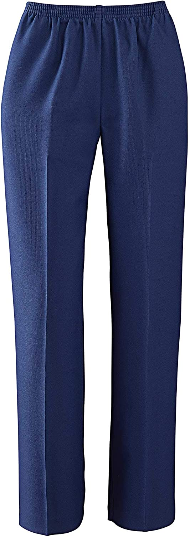 Alfred Dunner Women's Polyester PullOn Pants  Medium Length