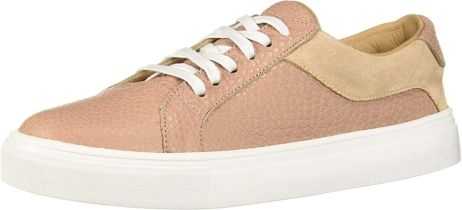 KAANAS Women's Greco Lace-up Leather Fashion Sneaker