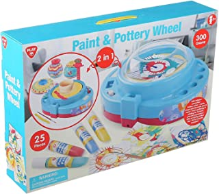 PlayGo Paint and Pottery Wheel 2 in 1