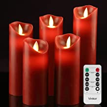Vinkor Flameless Candles Battery Operated Candles 4