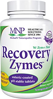 Michael's Naturopathic Programs Recovery Zymes - 90 Enteric Coated pH Stable Tablets - Proteolytic Enzyme Supplement, Supp...