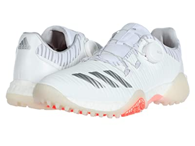 adidas Golf Codechaos BOA (Footwear White/Silver Metallic/Light Solid Grey) Women