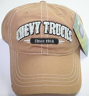 Chevy Chevrolet Duramax Gmc Since 1918 Cap Trucks Hat Logo Ball New 3D Distressed