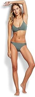 Seafolly Women's Brazilian Multi Strap Bikini Bottom Swimsuit, Active