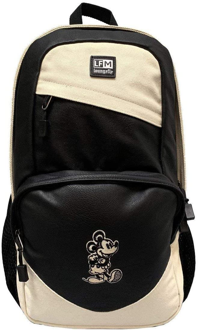 Loungefly Mickey Easy-to-use Mouse Taupe One_Size Backpack Nylon 5% OFF