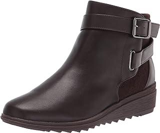 Easy Spirit Women's YARA Ankle Boot, Brown, 6.5