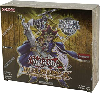 Yugioh Rivals Of Pharaoh Duelist Packs Booster Box - 36 packs of 5 cards each