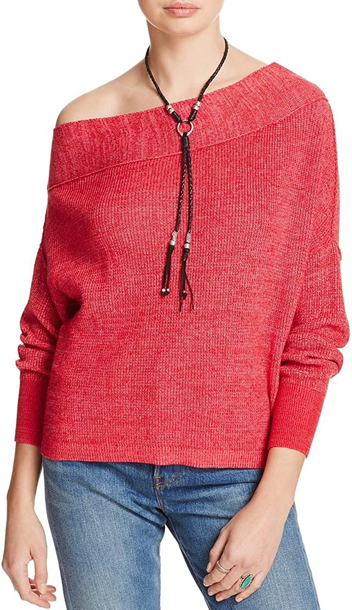 Free People Womens Alana Pullover Knit Sweater