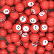 numbered balls for raffle