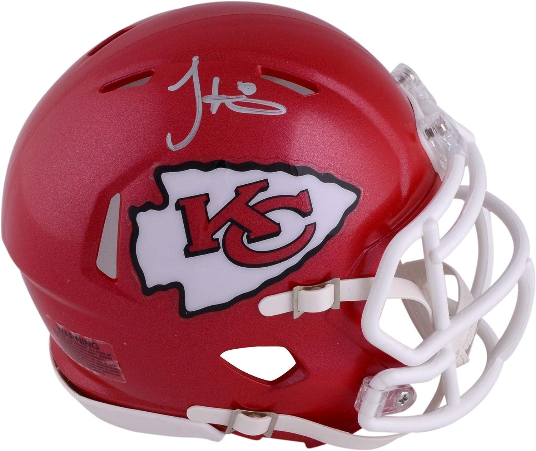 Tyreek Hill Kansas City Chiefs Autographed Riddell Speed He Product Mini Regular discount