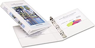 Avery Mini Durable View Binder for 5.5 x 8.5 Inch Pages, 0.5 inch Round Ring 1 Binder - White (27726)
