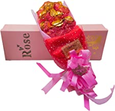 Jewel Fuel Valentine's Day Gift 24K Gold 11 Roses Bouquet with Gift Box (21 inches)
