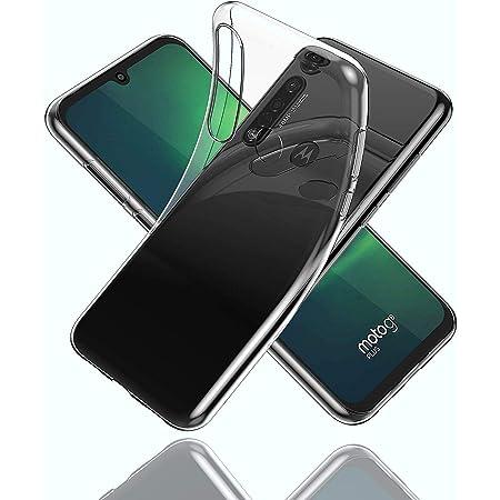 Moto G8 Plus ケース 【LASTE】Moto G8 Plus 用 カバー 落下 衝撃 吸収 擦り傷防止 (クリスタル・クリア)
