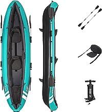 Bestway Hydroforce Ventura Kayak Set, Inflatable Boat Set With Hand Pump, Paddle And Storage Bag