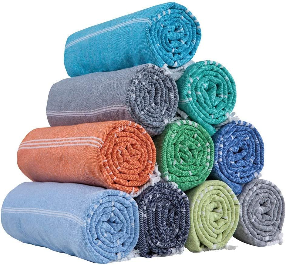HAVLULAND Set of 6 Towel%100 Our shop OFFers the best service Cotton 70x39 Today's only Pestemal Towel Turkish