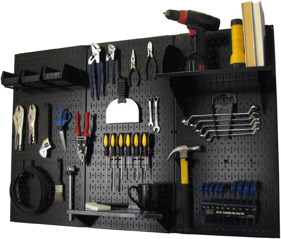 Wall Control 4 ft. Metal Pegboard Standard Tool Storage