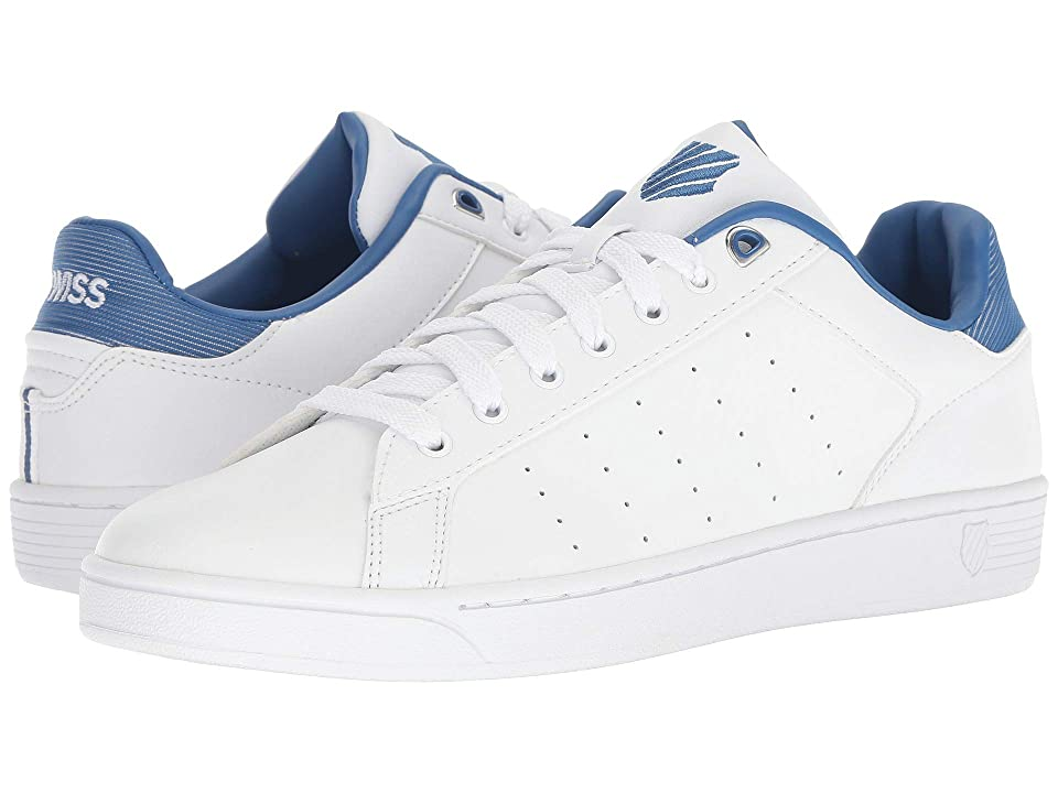 K-Swiss Clean Court CMF (White/Blue) Men