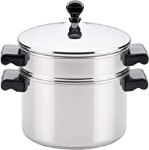 Farberware 70043 Stack 'N' Steam 3-Qt. Covered Saucepot Insert Stainless Steel Steamer Set, 3-Quart