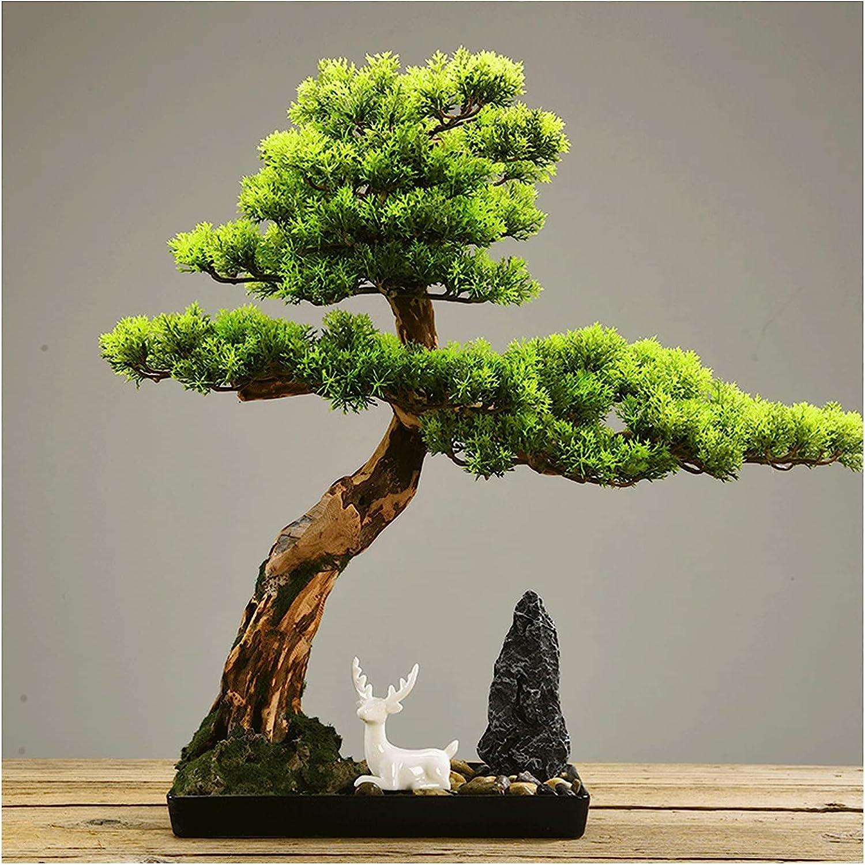 Cheap bargain YAYA2021-SHOP Simulation Raleigh Mall Tree 20 Inches Artificial Plants Bonsai