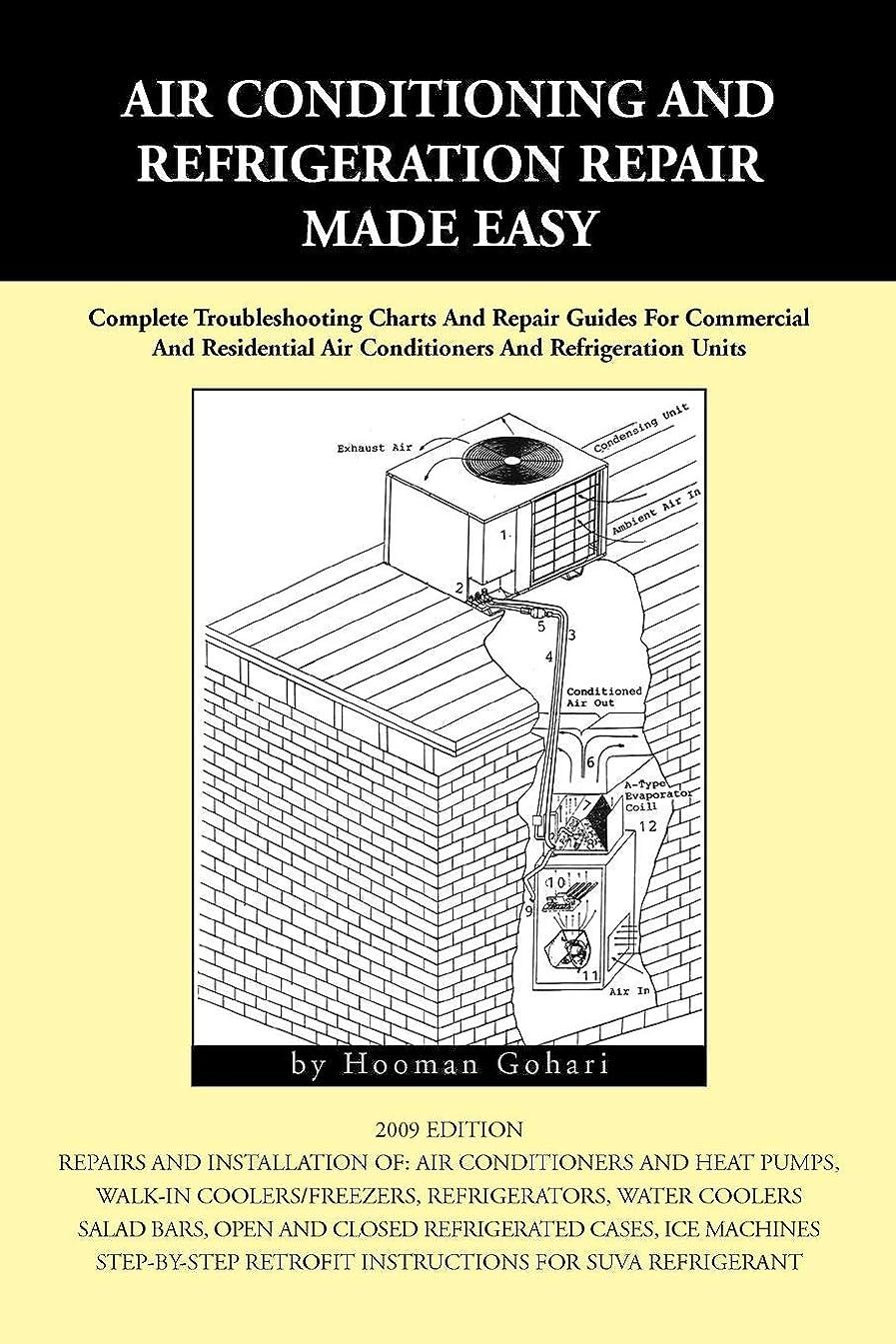 スーツケース開拓者手首Air Conditioning and Refrigeration Repair Made Easy: A Complete Step-by-step Repair Guide for Commercial and Domestic Air-Conditioning and Refrigeration Units