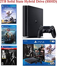$389 » 2020 Newest NexiGo Upgraded Playstation 4 PS4 Console Holiday Bundle 2TB SSHD Only on Playstation PS4 Console Slim Bundle-Included 3X Games (The Last of Us, God of War, Horizon Zero Dawn)