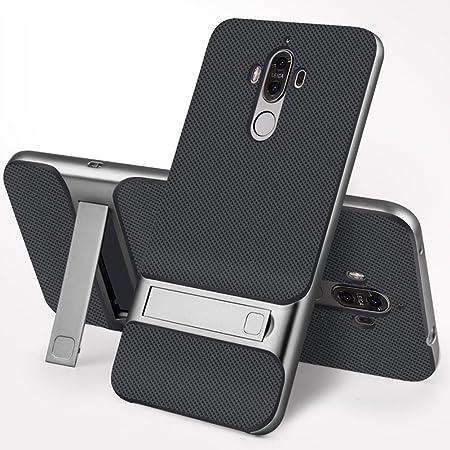 MOONCASE Huawei Mate 8 Coque, Hybride Housse Etui Antichoc TPU PC ...