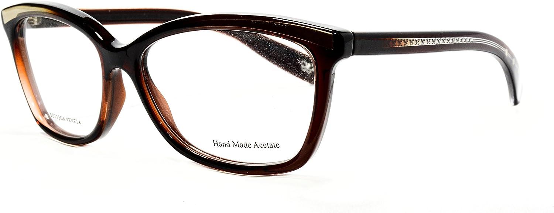 Bottega Veneta eyeglasses BV173 PKW cateye frames,Size 5414140