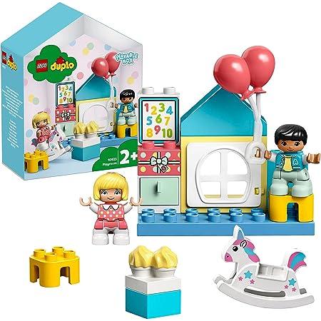 LEGO 10925 Duplo Town La Salle De Jeux Boîte de Petite Maison De Poupées, Jouet éducatif pour Enfants De 2 Ans Et